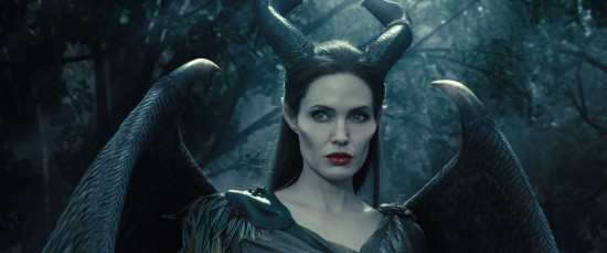 Before losing her wings, Maleficent is the protector of the moors.